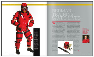 Redman UCM Mag Pic Article